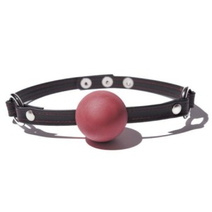 Deluxe Leather Ball Gag